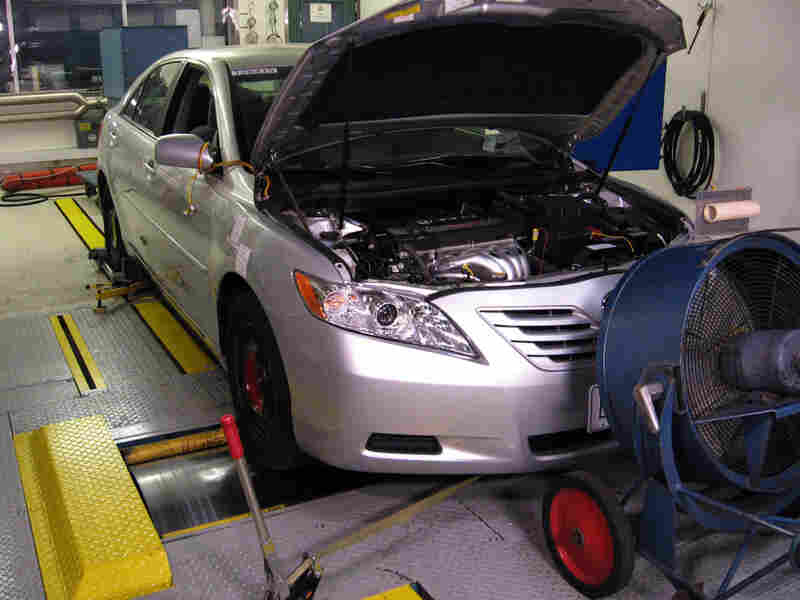 The Department of Energy is testing the effects of gasoline with 15 percent ethanol in it on car engines.
