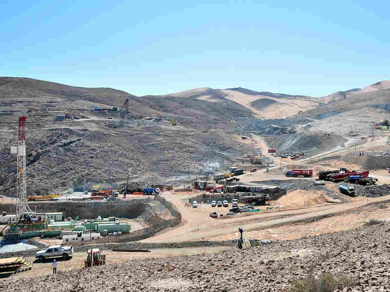Overview of the San Jose Mine zone