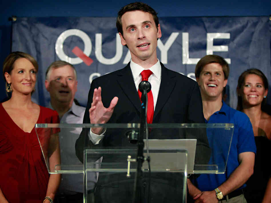 Ben Quayle is a Republican running for Congress in Arizona.