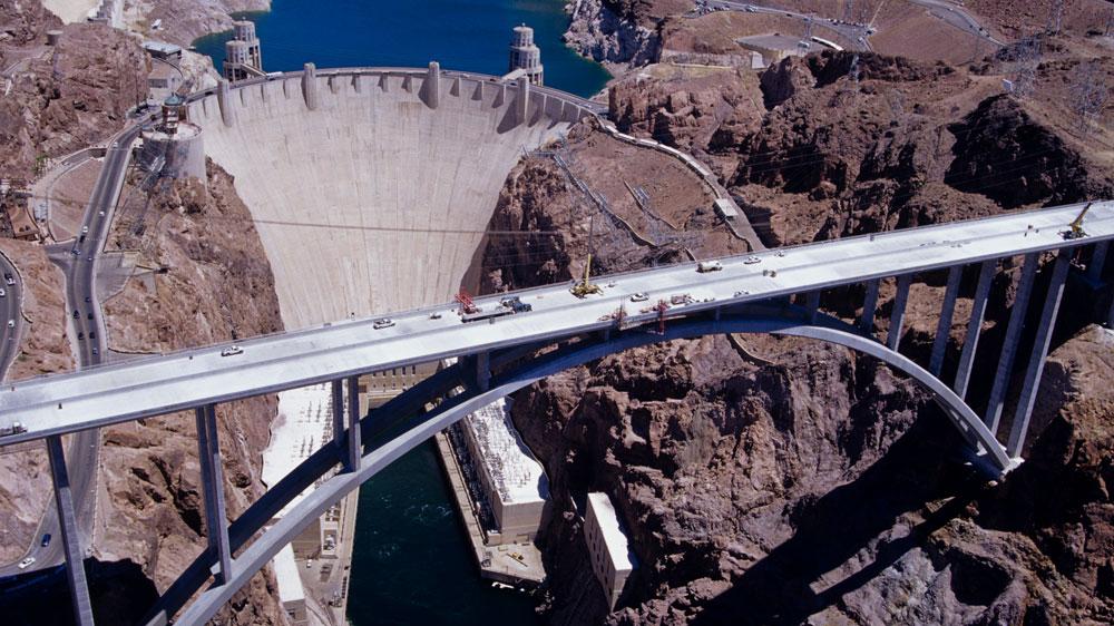 Hoover Dam Bridge Coll...