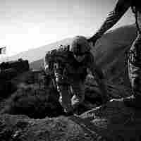 U.S. soldiers patrol in eastern Kunar province
