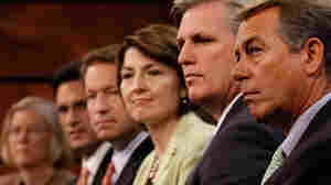 House Minority Leader John Boehner with other House GOP leaders.
