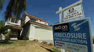 A house under foreclosure that will soon be auctioned in Las Vegas.