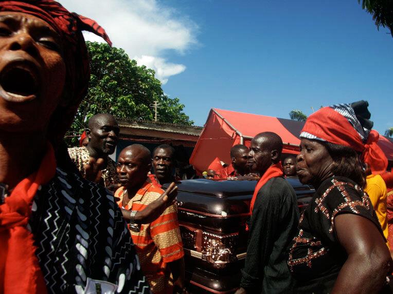 King Peggy: American Woman Reigns In Ghanaian Village : NPR