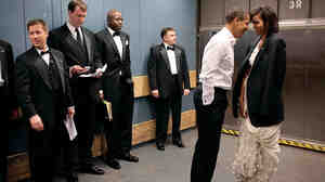 Photograph by President Obama's photographer, Pete Souza