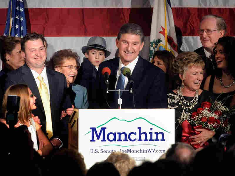 Democrat Joe Manchin