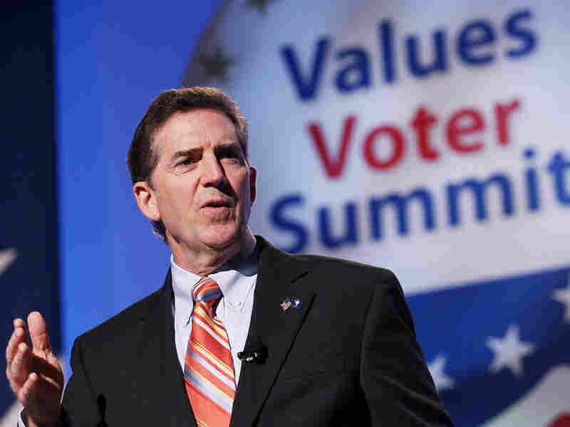 Sen. Jim DeMint (R-SC) speaks at the Values Voter Summit in Washington, D.C., in September.