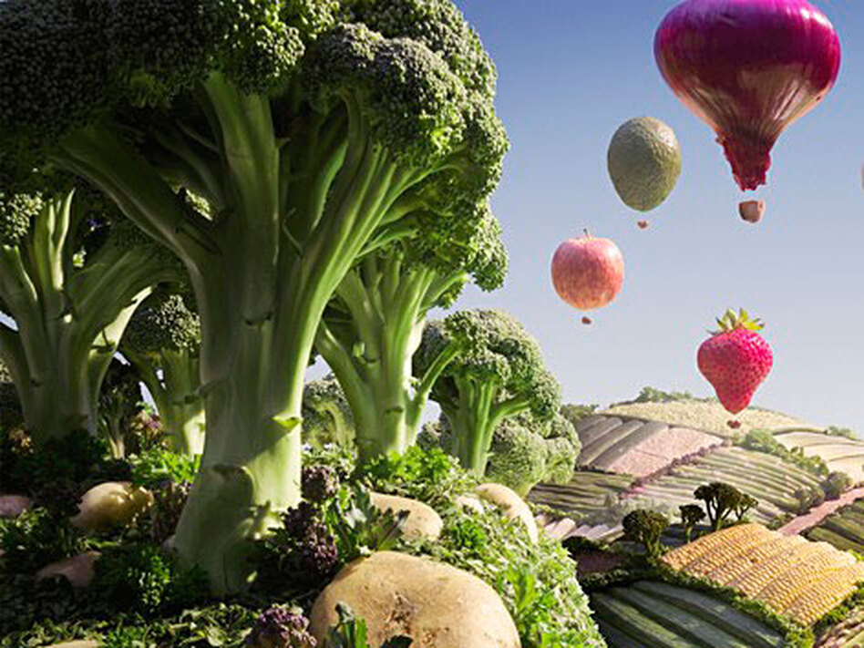 Food Photo Friday: Carl Warner's Edible Landscapes | WBUR News
