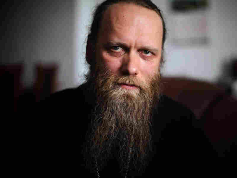 Father Porfiry is abbot of the newly restored Solovetsky Monastery