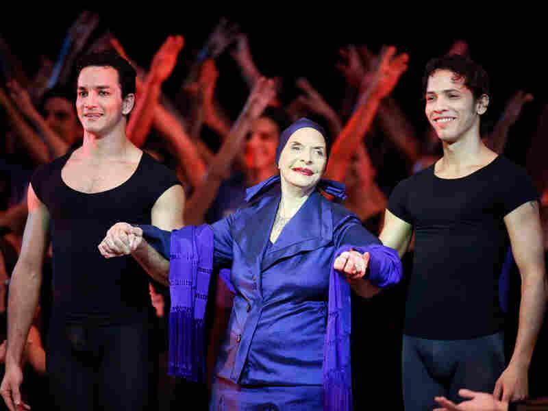 Alicia Alonso, Cuba's prima ballerina and director of Cuba's National Ballet