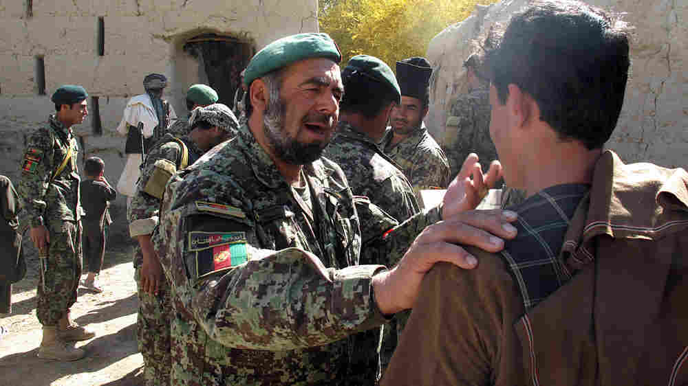 Col. Muhammed Rasoud Qandahari, one of the top Afghan National Army officers in the Kandahar region