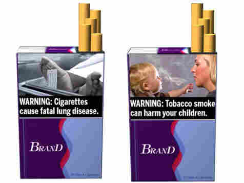 Proposed warnings for cigarette packages