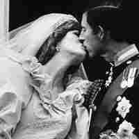 Prince Charles and Princess Diana after their wedding