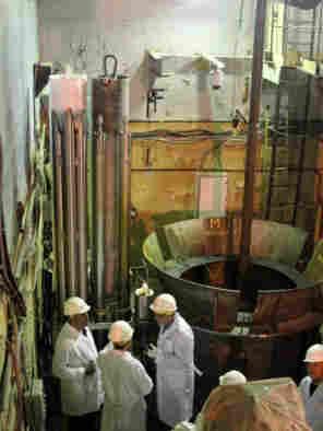 Nuclear fuel assemblies were taken from the BN-350 reactor in Aktau, on the Caspian Sea.
