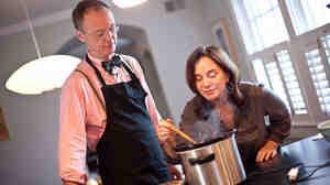 Chef Chris Kimball shows NPR host Renee Montagne new twists on Thanksgiving classics.