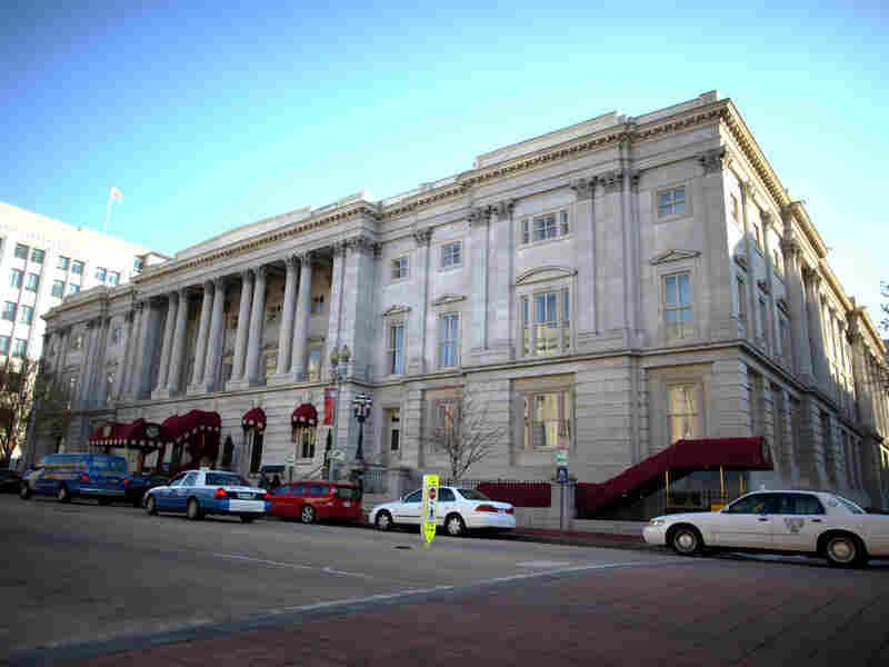 The General Post Office in Washington, D.C., is now a hotel.