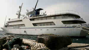 Saddam Hussein's luxury yacht in Greece in 2009