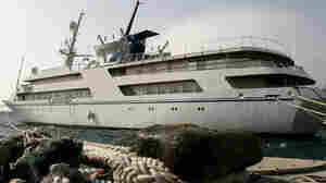 Saddam Hussein's luxury yacht in Greece in 2009
