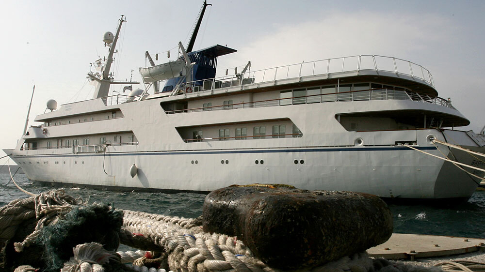 Saddam Hussein's Yacht Back In Iraq : NPR