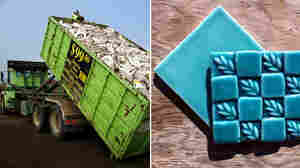 Trash To Treasure: From Toilets To Tiles