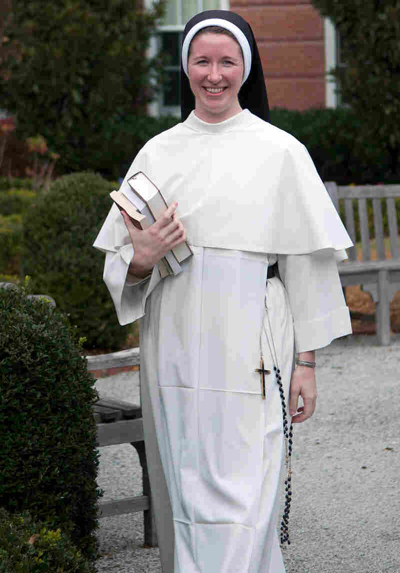Sister Beatrice Clark trained as a litigator before entering the convent five years ago.