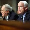 """Sen. John McCain at """"don't ask, don't tell"""" policy hearing"""