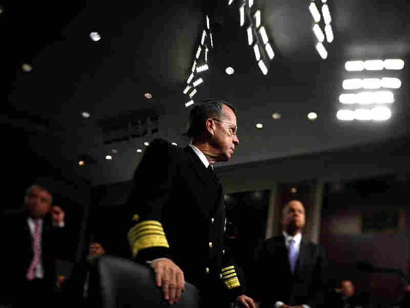 Joint Chiefs Chairman Adm. Mike Mullen.