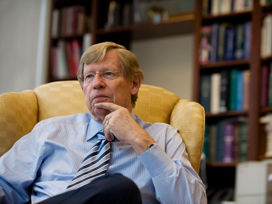 Ted Olson, who served as President George W. Bush's solicitor general, is now one of the lead lawyers trying to overturn California's Proposition 8, which bans gay marriage.