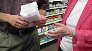Shane Wendel, a pharmacist and owner of the Central Pharmacy in New Rockford, N.D., speaks to Marvel Ebenhahn.