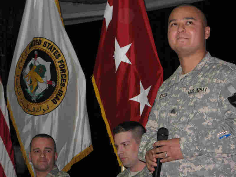 Retired Army Sgt. Alexander Reyes tells the story of how he was wounded by an IED in Iraq in 2007
