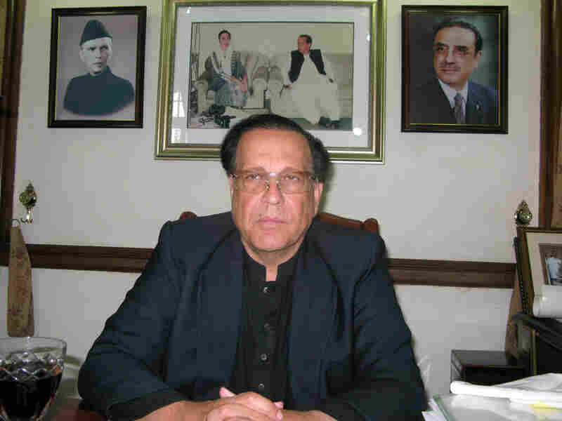 Gov. Salmaan Taseer of Punjab province