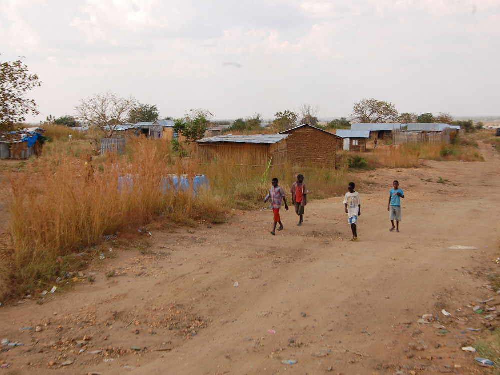 Gudele West is a mushrooming community of returnees outside Juba that has no electricity, water or sewer