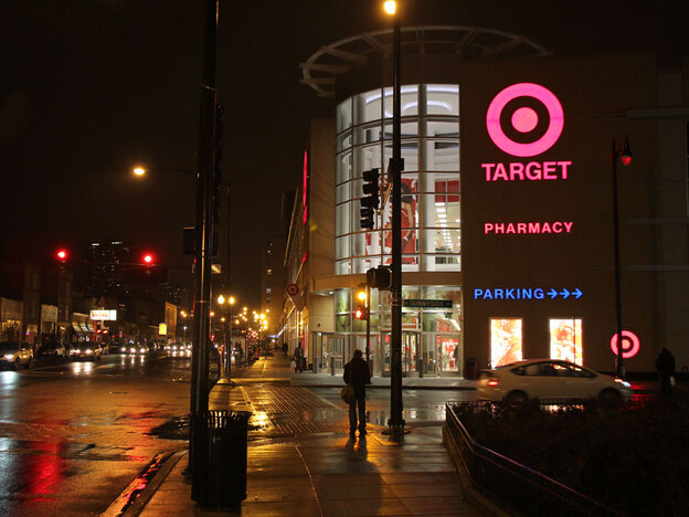 The Target store in Chicago's Uptown neighborhood opened this past summer. It's part of a mixed-use development, which includes modest apartments and other retail shops.