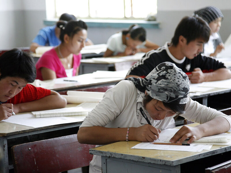 Chinese Top In Tests, But Educators Call For Reform : NPR