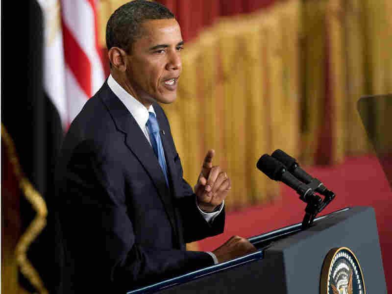 The president spoke at Cairo University on June 4, 2009.