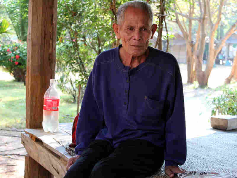Meu Sala-Ngarm, 82, is one of the few remaining morchang, or master elephant capturers, among Thailand's Kui ethnic minority