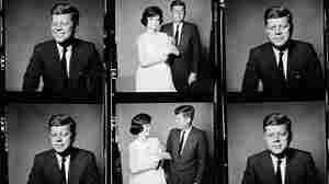 A contact sheet shows the Kennedys, photographed by Richard Avedon