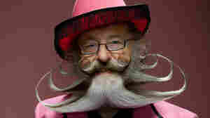 Photographs of facial hair by Dave Mead