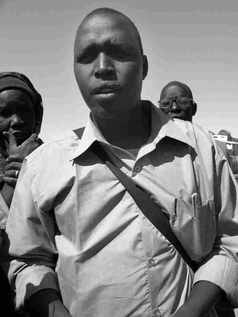 Joseph Yel, a Christian resident of the Khartoum slum called Jabarona