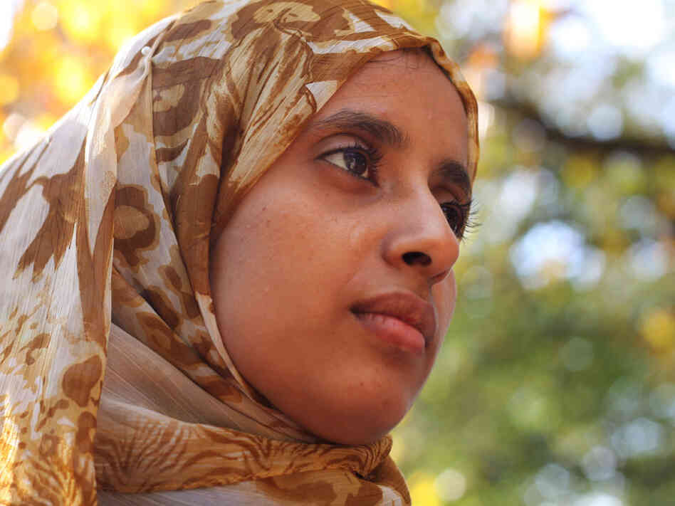 Amira Al-Sharif was born in Saudi  Arabia and grew up in Yemen. She was the first person from her family who graduated from a university — and she got money to take photos in America.