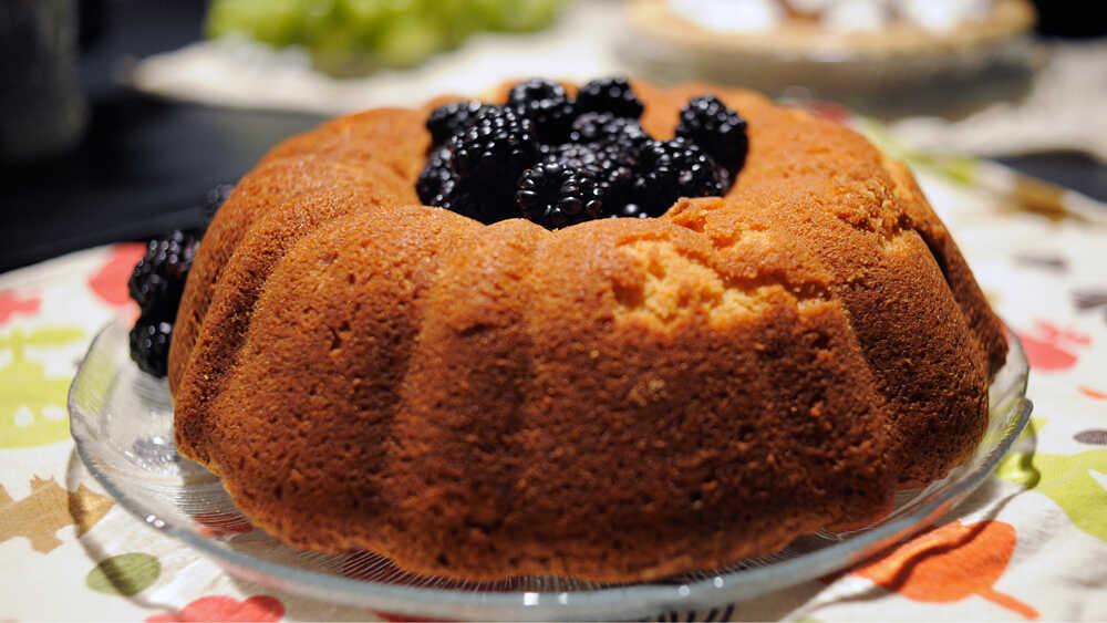 Sandra Chaisson's Mama's homemade pound cake