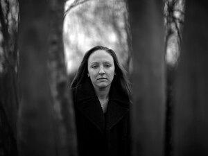 A portrait of Leigh Ann Hester