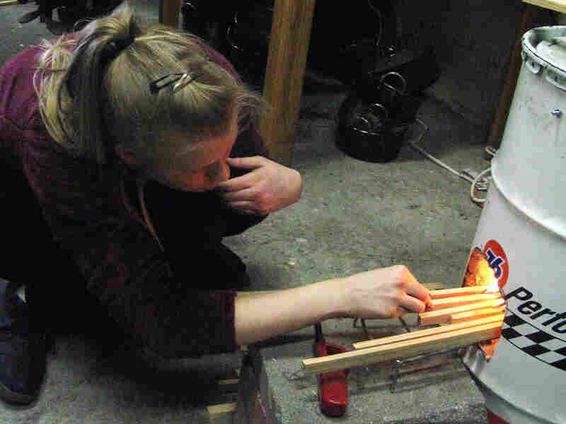 At its lab, Aprovecho teaches people how to test the efficiency and emissions of wood stoves.