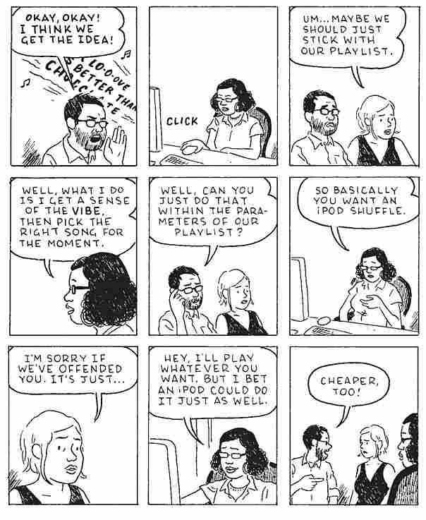 Tomine cartoon