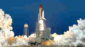 We Have Liftoff! Discovery Blasts Off One Last Time