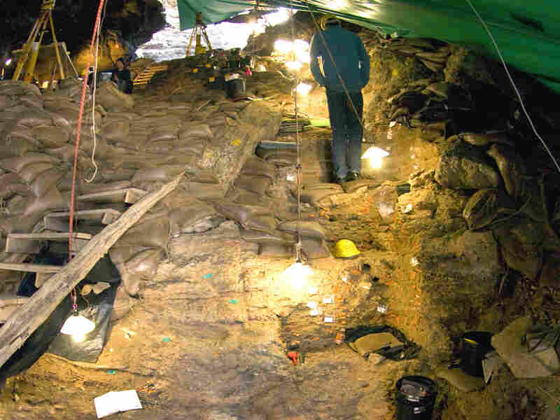 Deep down in layers of rock, paleoanthropologists dig up clues to ancient toolmaking.