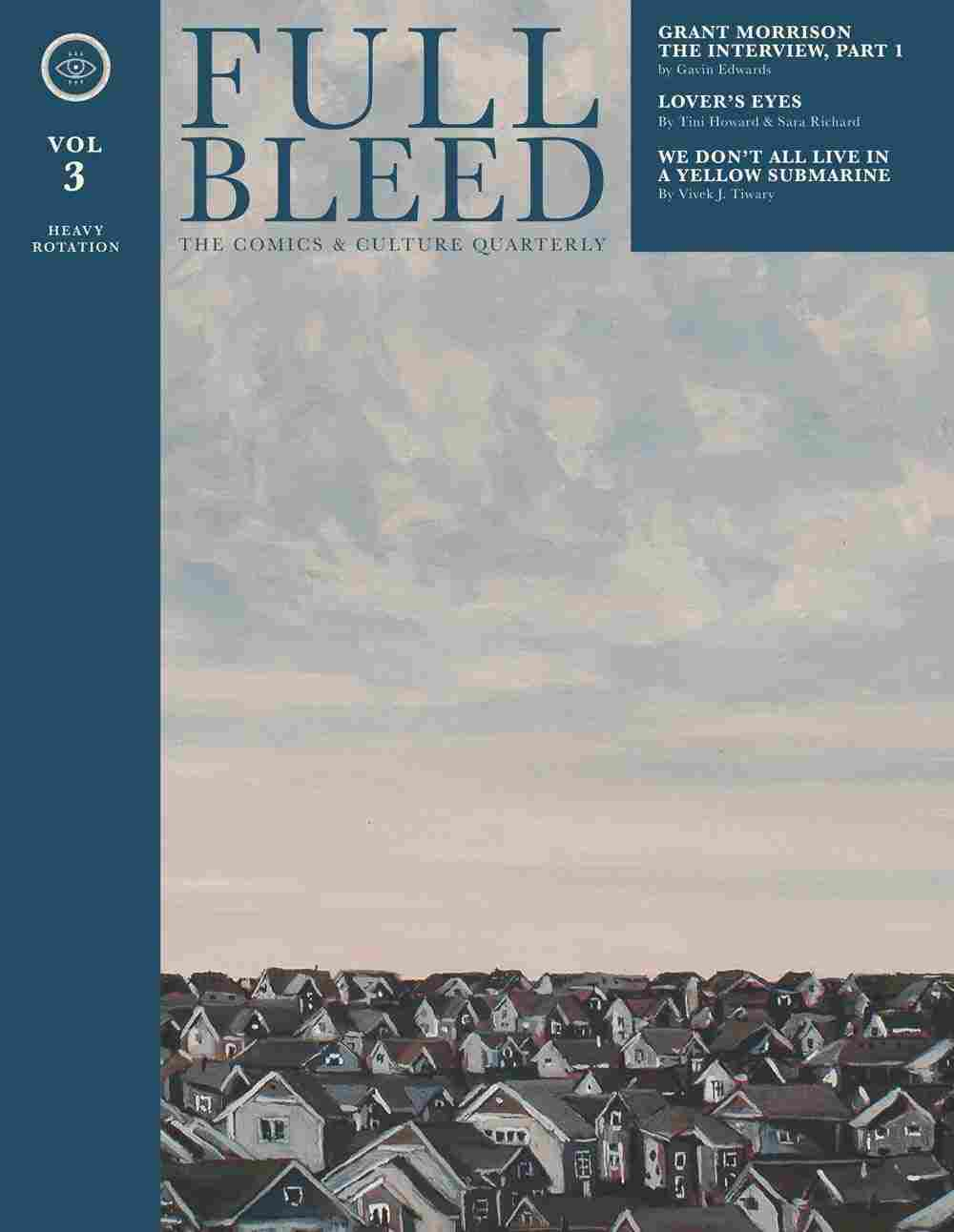 Full Bleed, the Comics & Culture Quarterly, vol. 3