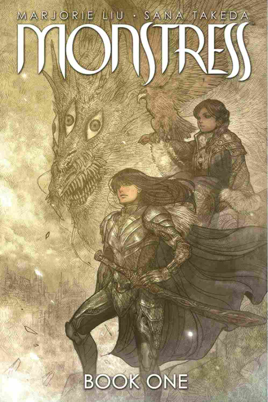 Monstress, by Marjorie Liu and Sana Takeda