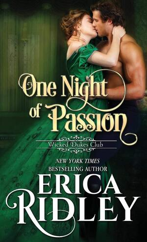 One Night of Passion, by Erica Ridley