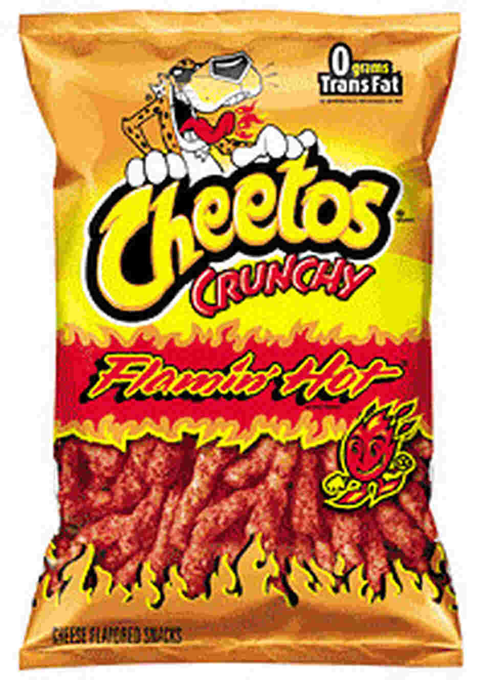 how to eat hot cheetos